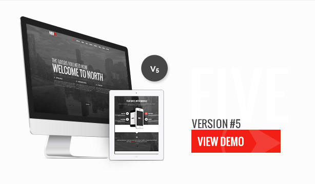 North - One Page Parallax WordPress Theme - 19