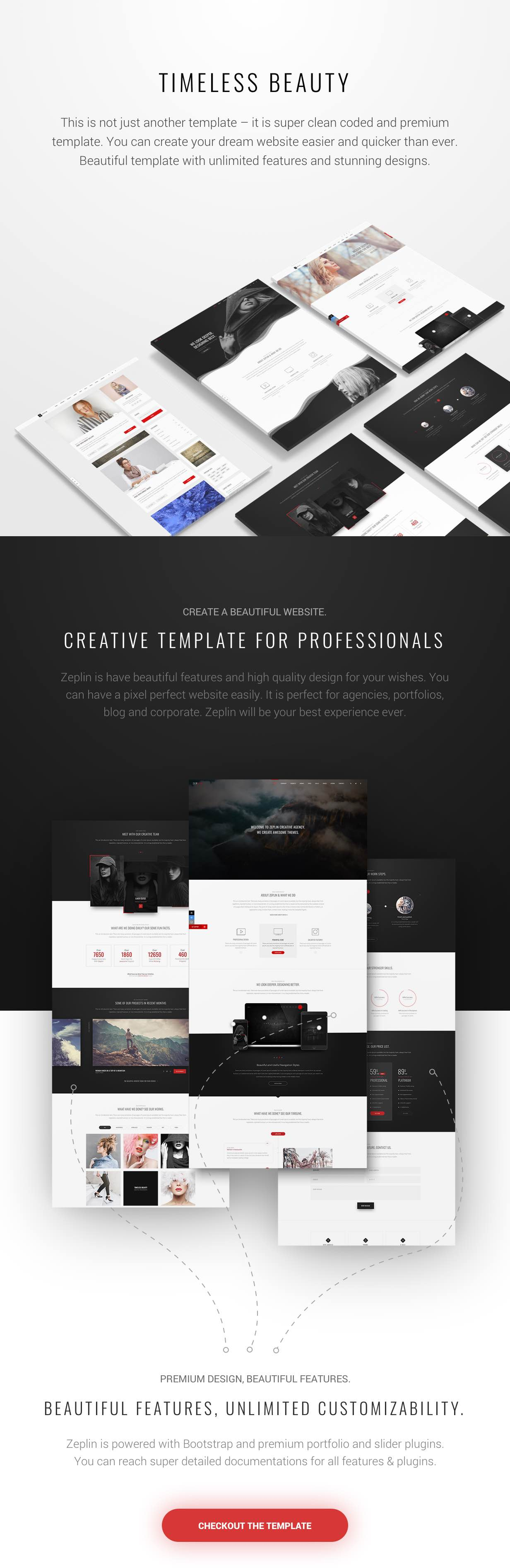 Zeplin | Creative Template - 1